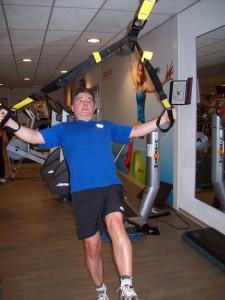 TRX training Bas Snijders