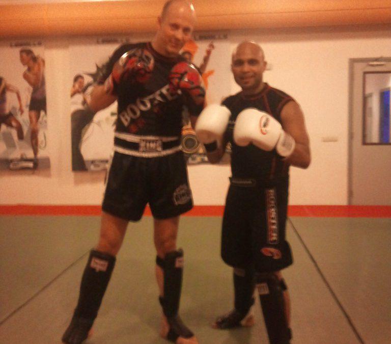 Kickbokstraining Rutger de Nooij / Dinami Steenbergen