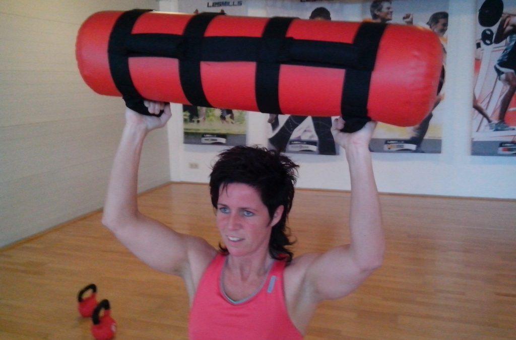 Water bag training / Angelique Schreurs 17-04-2013