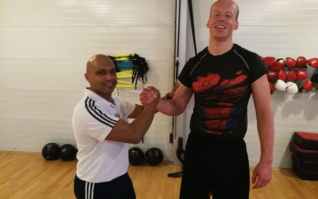 Rick de Schutter – CrossFit training