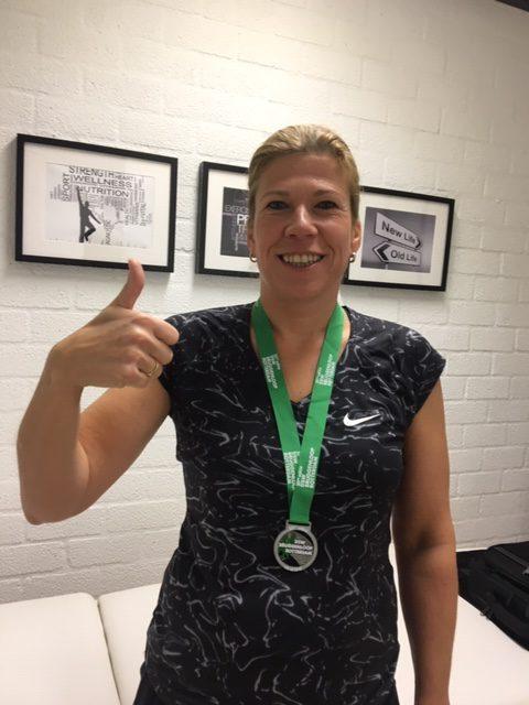 Esther van Duijn – 15 km afgelegd!