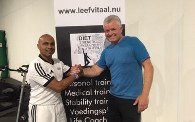 Aad van Oord – afsluiting LeefVitaal 14 weken traject!