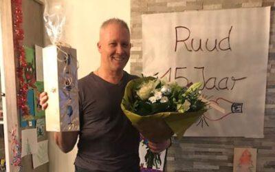 Ruud Bakkers 15 jaar kickboks-instructeur bij LeefVitaal